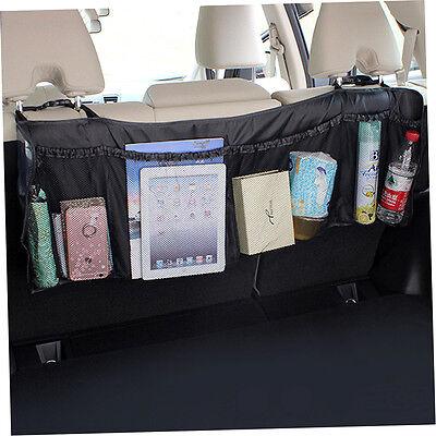 Car Auto Back Rear Trunk Seat Elastic String Net Mesh Storage Bag Bag Cage PT