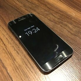 Immaculate Samsung Galaxy S7 Black (Under Warranty)