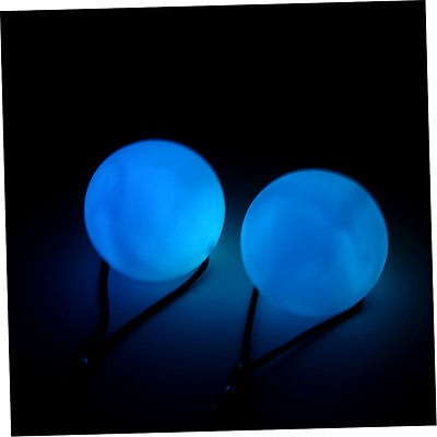 New Professional Belly Dance Level Hand Props LED RGB POI Thrown Balls YT