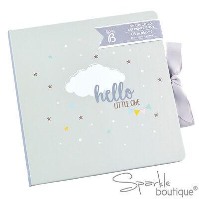 GRANDPARENT/GRANDCHILD KEEPSAKE BOOK-New Baby Planner/Journal/Diary-Gift/Present