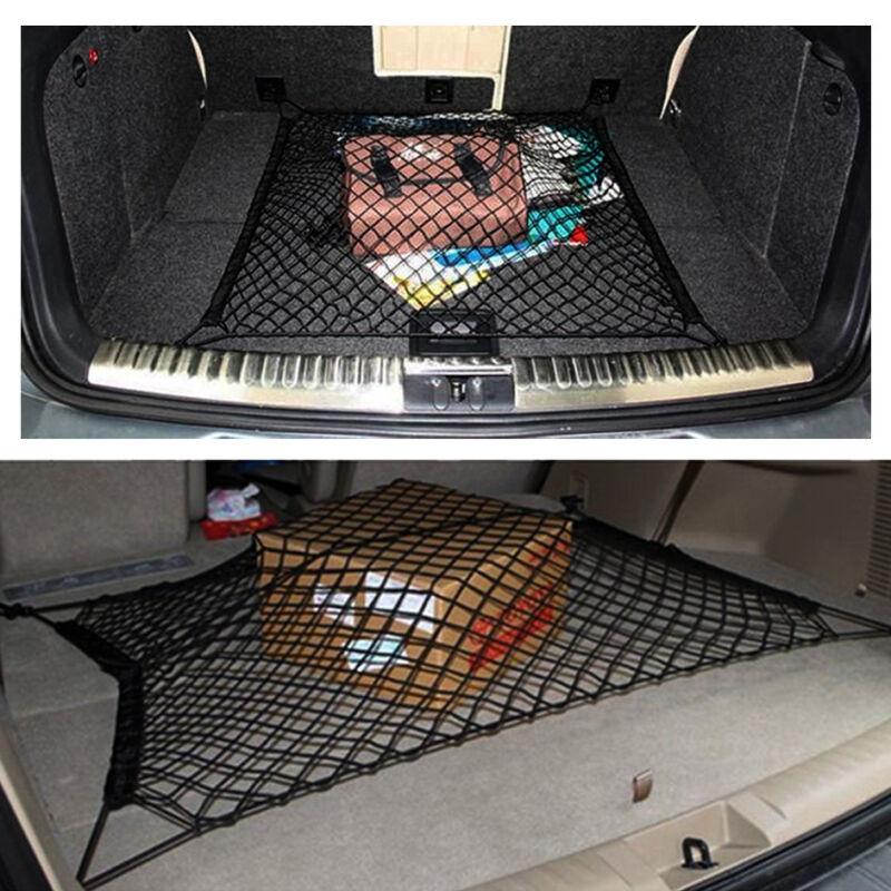 Universal Car Trunk Storage Cargo Luggage Elastic Mesh Net Bag Holder Pocket LH