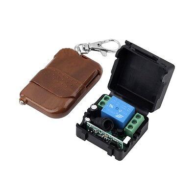 DC 12v 10A relay 1CH wireless RF Remote Control Switch Transmitter& Receiver YF