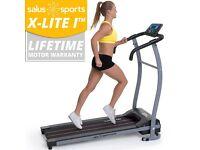 X-LITE I™ TREADMILL - Fitness Running Machine - Motorised Folding Electric -Hardly used