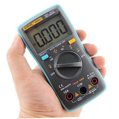 Professional Digital Multimeter Auto-Range Widerstand  AN8001 AC DC Tester T3FW