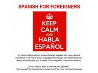 Spanish lessons using Zoom or Skype