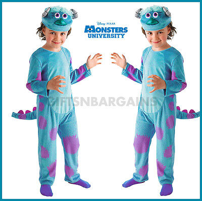 Toddler Sulley Monsters Inc Costume (Sulley Boys Costume Monsters Inc Disney Child Halloween Toddler 3-4y Alien)