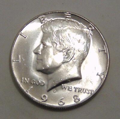 1968 D KENNEDY HALF DOLLAR  OFFER B