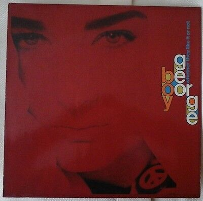 "BOY GEORGE WHETHER THEY LIKE IT OR NOT GERMAN 12"" Single 45RPM 1980s EX/EX"