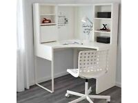 Ikea corner workstation study desk table in excellent condition
