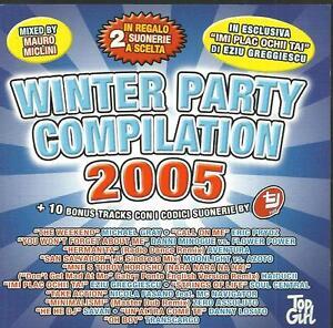 cd C5 VARIOUS WINTER PARTY COMPILATION 2005 ( Aventura Danni Minogue Moonlight v - Italia - cd C5 VARIOUS WINTER PARTY COMPILATION 2005 ( Aventura Danni Minogue Moonlight v - Italia