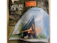 BRAND NEW WOODLAND PLAY TENT FOR CHILDREN