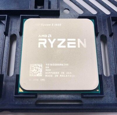 AMD RYZEN 5 1600 6-Core 3.2 GHz (3.6 GHz Turbo) Socket AM4 YD1600BBM6IAE OEM Ver