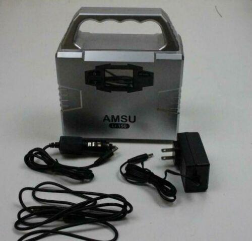 Amsu Li-150 Portable Solar Generator & Power Supply (Solar Panel Sold Separate)