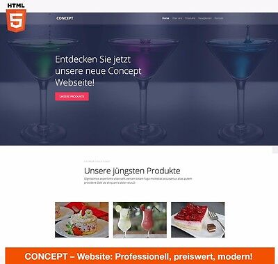 Website/Script auf CMS-Basis, Homepage, Website, Internetseite,