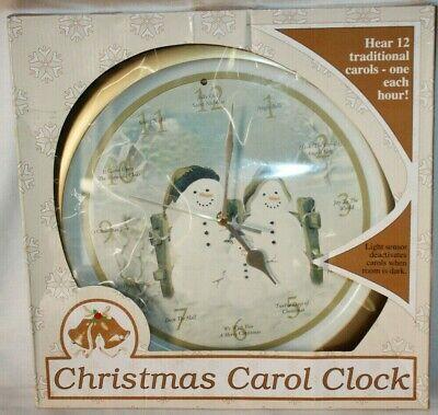 Feldstein Traditional Christmas Carols Snowman Family 13