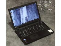 Toshiba C50-B-14D laptop REFURBISHED + 3MONTHS WARRANTY