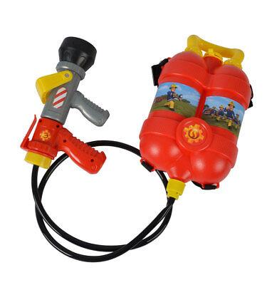 Feuerwehrmann SAM Tankrucksack Spritzpistole mit Tank Wasser Spritzer Rucksack