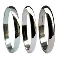 2mm 9 Ct Oro Blanco Alianzas D Perfil Forma Gb Hm Medio Pesado X Pesado Bandas -  - ebay.es