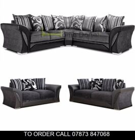 lkjs Farraw Sofa Settee in Two Colours and Quick Delivery anhf