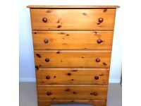 CHEST UNIT COMPRISING OF 5 DRAWERS