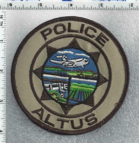 Altus Police (Oklahoma) 4th Issue Uniform Take-Off Shoulder Patch