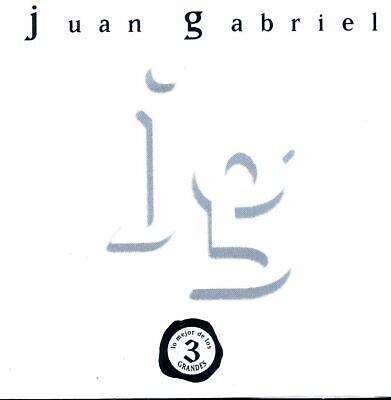 Juan Gabriel ~ Lo Mejor De Los Tres Grandes CD