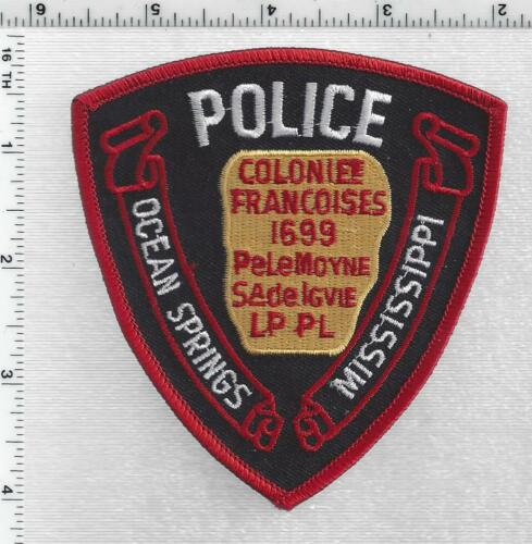 Ocean Springs Police (Mississippi) 5th Issue Shoulder Patch