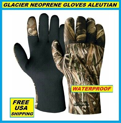 New Glacier Ascension Bay Sun Glove Poly Palm Fingerless 50+UP 007GP-L Lg