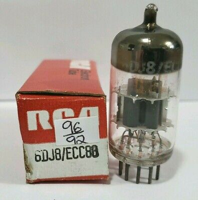 1 RCA  Amperex 6DJ8 ECC88  Vacuum Tube Tested Good On Calibrated TV - 7  for sale  Shipping to South Africa