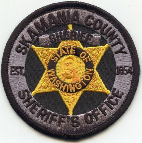 SKAMANIA COUNTY WASHINGTON WA small round SHERIFF POLICE PATCH
