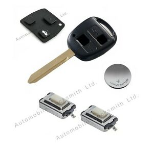 how to open a carolla car key
