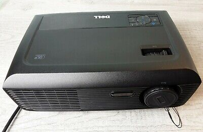 Dell 1210S DLP Projector low hours 98 total! Works perfect, looks great!