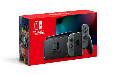 Nintendo Switch Gray Joy‑Con Version 2 32GB Memory *NEW* FREE SHIP FAST!