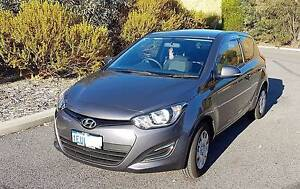 2015 Hyundai i20 PB MY15 Active Silver 6 Speed Manual Hatchback Mount Lawley Stirling Area Preview