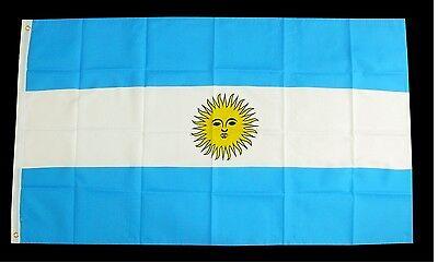 Flagge Fahne Argentinien,90x150 cm,Südamerika Fußball Argentina,Maradona Bandera