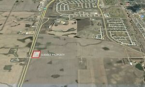 5 Acres of Commercial Land for Sale in Moose Jaw!!