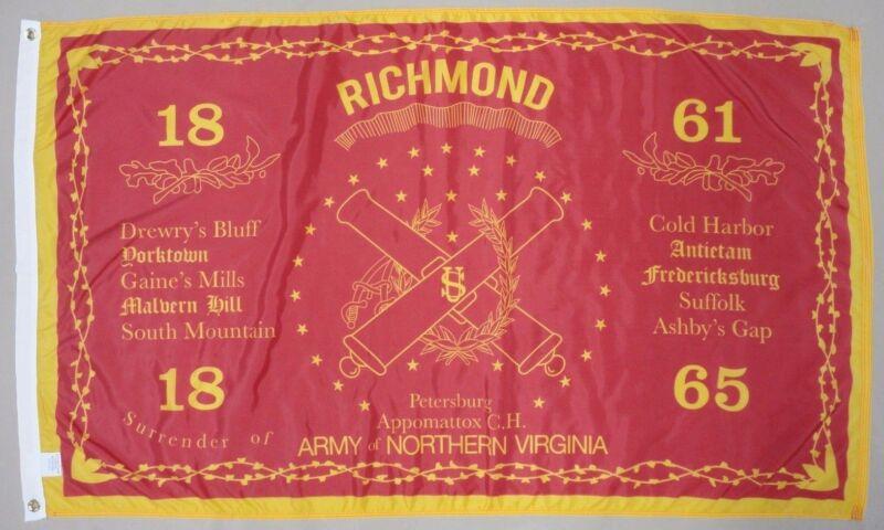 5th Heavy Artillery Troops Historical Indoor Outdoor Nylon Flag Grommets 3