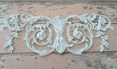 SHABBY n CHIC FURNITURE APPLIQUES WHOLESALE ARCHITECTURAL LRG  CENTER  Complaisant