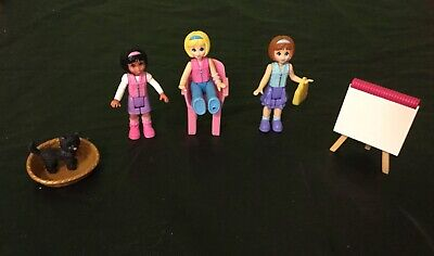 Fisher Price Sweet Streets Go Anywhere People Figures 3 Teen Girls