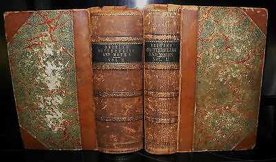 British butterflies and moths. H.T.Stainton , Volumes 1&2. 1857 & 1859 RARE!!