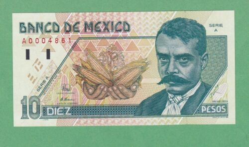 Mexico 10 Peso  Note  P-105a    UNCIRCULATED