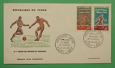 DR WHO 1966 CHAD FDC 8TH WORLD CUP  C241790