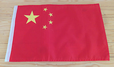"CHINA FLAG - 45cm x 30cm - 18"" x 12""  - Chinese flag"
