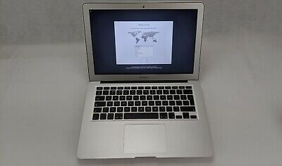 "Apple MacBook Air 2017 A1466, Intel i7 2.2GHz 128GB SSD 8GB 13.3"" Silver"