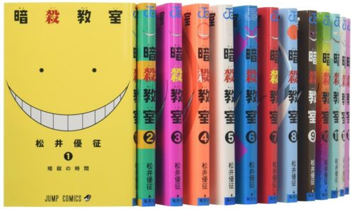Assassination Classroom 1-21 Complete Set Japanese Manga Comics Book