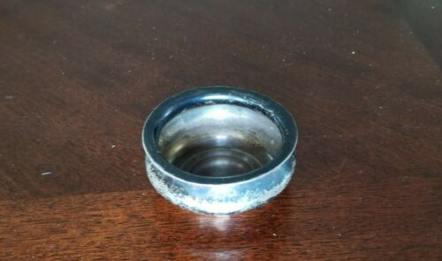 """Sterling Salt Seller/ Small Bowl 2/1/8"""" Diameter 16 g. #1232"""