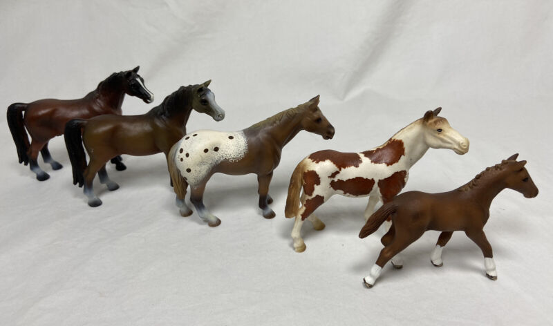 Schleich Horses Lot of 5