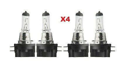 XENON Halogen H11B 12V 55W 4 X  Bulbs Headlight Low Beam Replacement