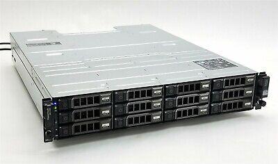 Dell PowerVault MD1200 12-Bay Storage Array w/12*4TB SAS + 2*MD12 SAS Controller