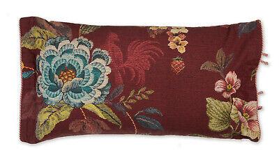 PIP Studio Kissen Kopfkissen Poppy Stitch Red 35x60 cm inkl. Füllung rot Blumen